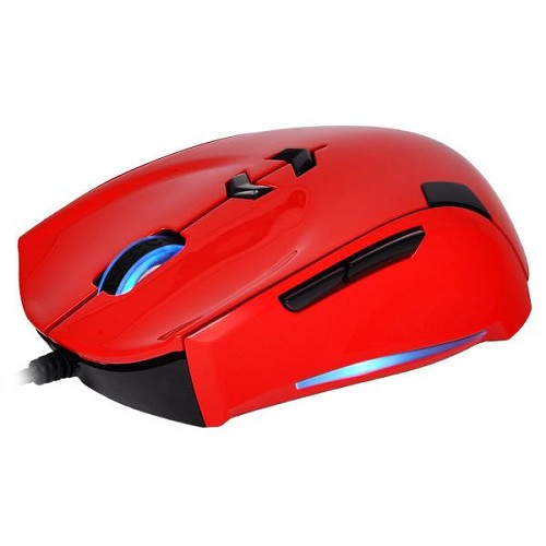 TT eSPORTS Theron Blazing [MO-TRN006DTL] - Red - Gaming Mouse